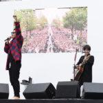 コブクロ 御堂筋ライブの動画映像。ランウェイ思い出の聖地【情熱大陸】結成20周年